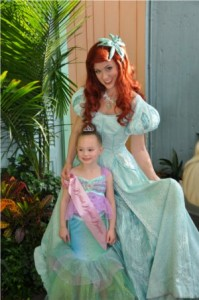 fun experience for young girls at Disney