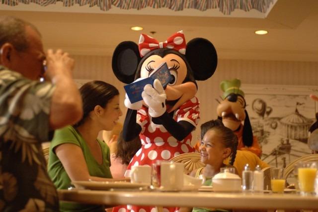 Meet Mickey and Cinderella at Disney