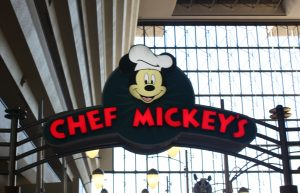 Dining during Disney vacation