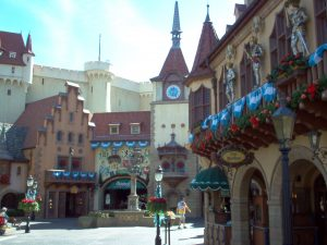 countries at Epcot from around the world