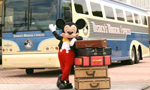 free transportation to Disney from airport