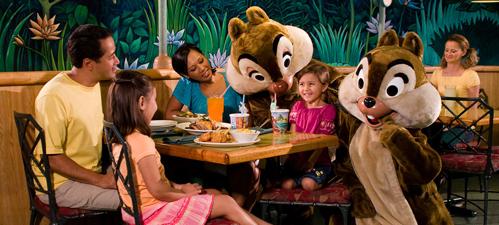 Breakfast with Minnie and Friends