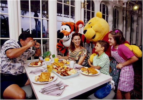 Breakfast with Mickey and Friends