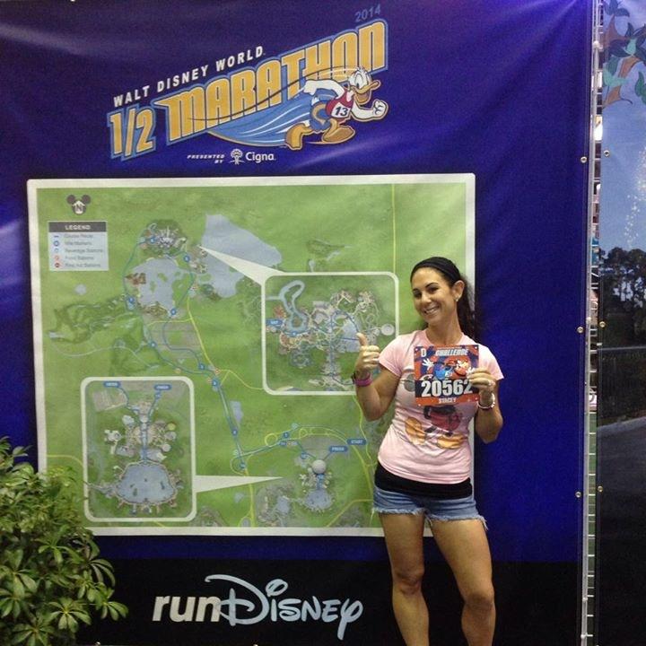 Walt Disney World Goofy Challenge