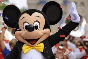mascot at Disney
