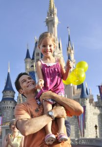 Father and Daughter who used our Disney Travel Agency.