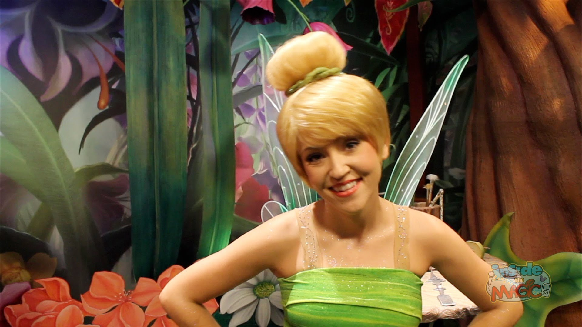 Tinkerbell at Walt Disney World