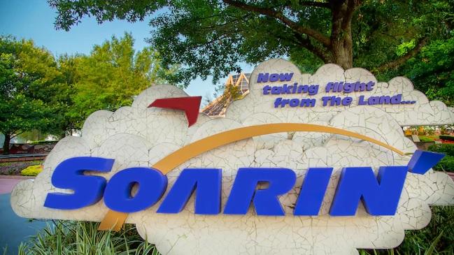 Soarin located inside Epcot at Walt Disney World in Orlando, Florida