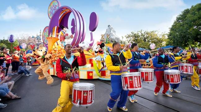 Disney Parade on Main Street