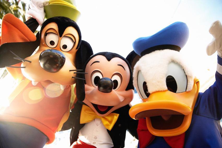 Mickey Donald & Goofy