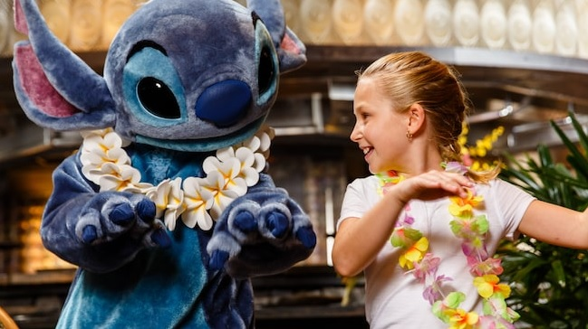 Ohana Character Breakfast at Walt Disney World