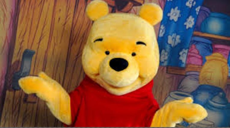 Winnie the Pooh at Walt Disney World